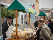 Cooperative Alaznistavi presented 4 types of Guda Cheese on Cheese Festival 2017